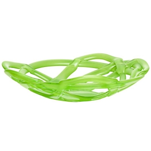 Anna Ehrner: Large Basket Bowl, Green