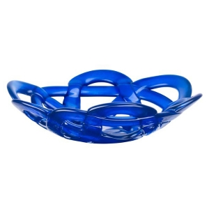 Anna Ehrner: Small Basket Bowl, Blue