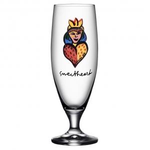 Ulrica Hydman-Vallien: Friendship Glass, Sweetheart