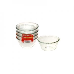 Pyrex: Small Custard Cups, Set of 4