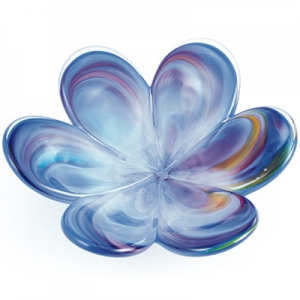 Glass Eye Studio: Affection Flower, Blue