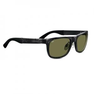 Serengeti: Nico Shiny Gray Marble Polarized Sunglasses