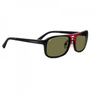 Serengeti: Lorenzo Shiny Red Granite Sunglasses