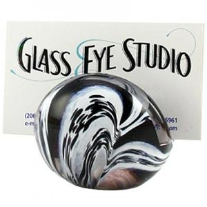 Glass Eye Studio: Card Holder, Black/White