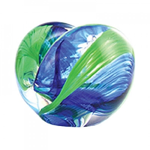 Glass Eye Studio: Card Holder, Blue/Green