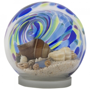 Glass Eye Studio: Small Island Sea Globe