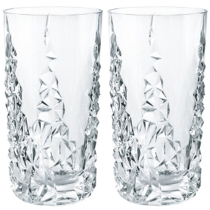 Riedel/Nachtmann: Sculpture Long Drink Glasses, Set of 2