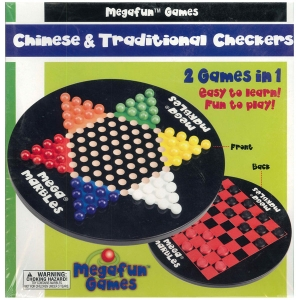 MegaFun USA: Chinese and Traditional Checkers