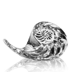 Steuben: Nautilus Shell