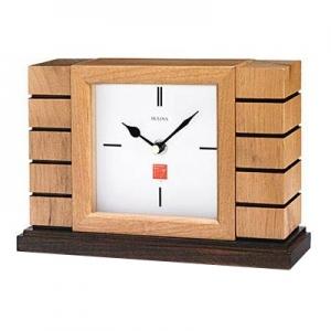 Bulova: Frank Lloyd Wright Usonian Mantel Clock