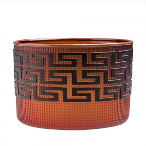 Preston Singletary: Tlingit Basket, Red with Brick Lip