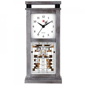 Bulova: Frank Lloyd Wright Waterlilies Bluetooth Clock