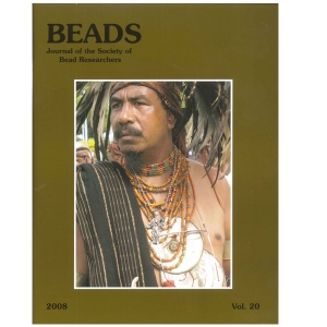 Beads: Journal of the Society of Bead Researchers, Vol. 20, 2008