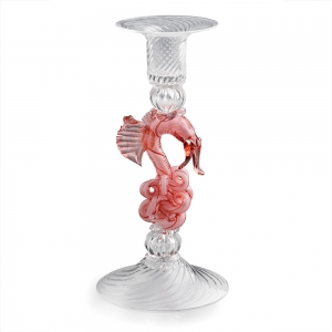 William Gudenrath: Rose Dragon Candlestick