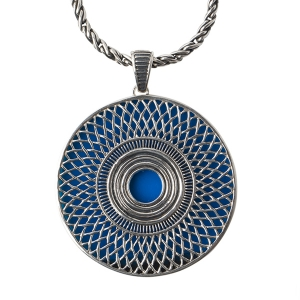 Cynthia Gale: Ennion Statement Sapphire Necklace
