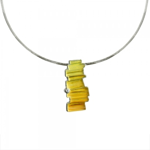 Debra Adelson: Mineral Series Pendant & Pin