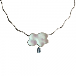 Debra Adelson: Mini Storm Cloud Pendant