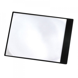 Carson Optical: MagniSheet 2x Full Size Page Magnifier