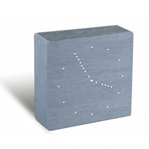 Gingko: Analog Click Clock, Aluminum