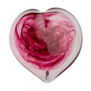 Helen Tegeler: Heart Paperweight, Pink