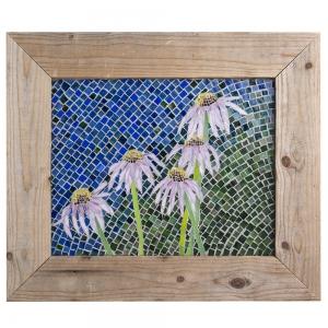 Janet Dalecki: Cone Flower Mosaic