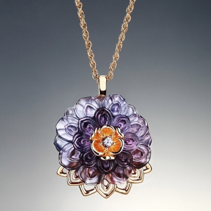 Liuli: An Opulent Talisman Necklace