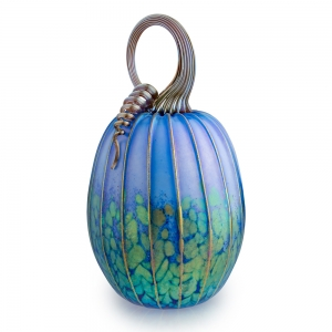 Jack Pine Studio: Large Pumpkin, Avatar Blue