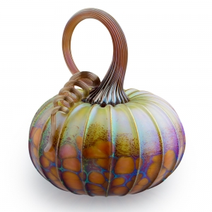 Jack Pine Studio: Medium Pumpkin, Green Orchard