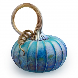 Jack Pine Studio: Medium Pumpkin, Pacific Blue