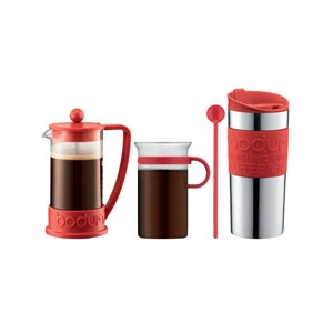 Bodum: Coffee Set, Red