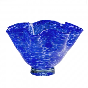 George Kennard: Floppy Bowl, Cobalt