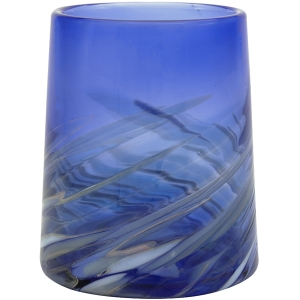 Glass Eye Studio: Coastal Cobalt Votive