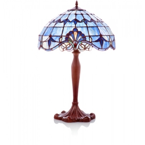 River of Goods: Blue Allistar Table Lamp