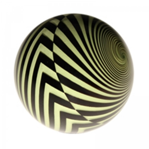 Mark Matthews: Vertigo Warning Ball, Yellow