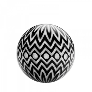 Mark Matthews: White Equacentric Chevron Eye Sphere