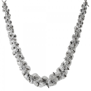 Nirit Dekel: Palladium Callas Necklace