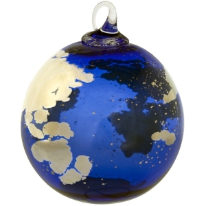 Glass Eye Studio: Earth Celestial Ornament