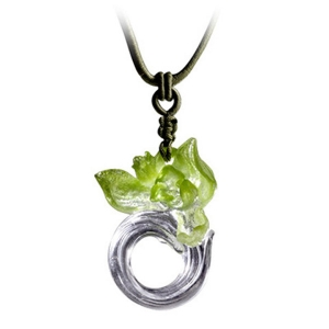 LIULI Art Glass: Imminent Spring Dance Necklace