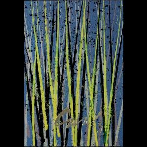 Chihuly Workshop: Reed Parade, Framed