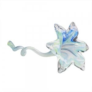 Hands on Glass: Flower, Sky/Spring