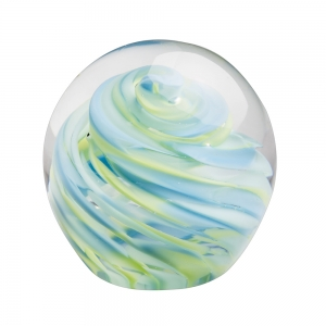 Hands on Glass: Small Paperweight, Spring