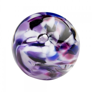 Hands on Glass: Marble, Purple