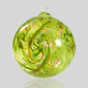 Kingston Glass Studio: Friendship Ball, Green