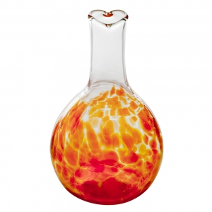 Henrietta Glass: Circle Friends Vase, Orange