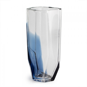 Vitreluxe Glass: Large Vase, Royal Blue