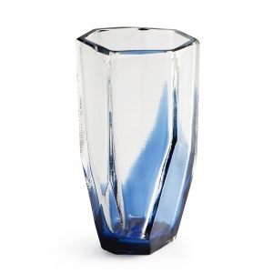 Vitreluxe Glass: Small Vase, Royal Blue