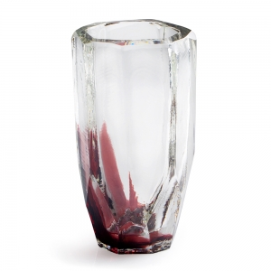 Vitreluxe Glass: Small Vase, Violet