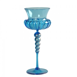 Vetro Vero: Blue Goblet 11
