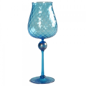 Vetro Vero: Blue Goblet 5