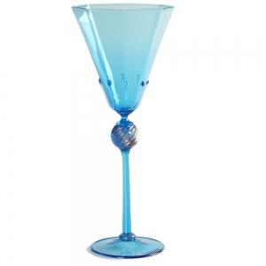 Vetro Vero: Blue Goblet 7